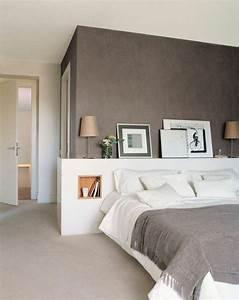 Taupe Grau Wandfarbe : schlafzimmer dunkle wandfarbe beruihgend taupe braun grau masters bedroom pinterest ~ Indierocktalk.com Haus und Dekorationen