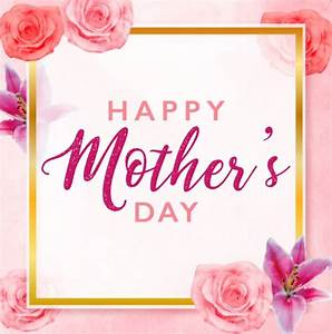 Free Mother's Day Greeting Card Template Vector - TitanUI