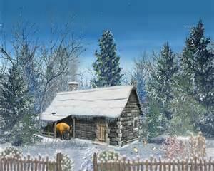 Winter Christmas Snow Scenes Screensaver