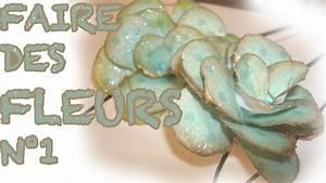 Comment Faire Des Roses En Papier : comment faire des roses en papier n 1 youtube ~ Melissatoandfro.com Idées de Décoration
