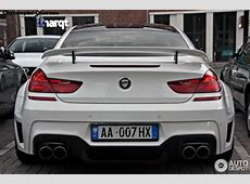 Lumma Design BMW CLR 6 M Spotted in Rotterdam, Hails from