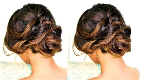 romantic updo hairstyle hairstyles  long medium hair