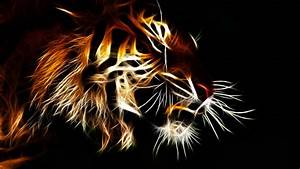 3d Animated Tiger Wallpapers