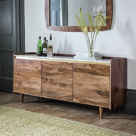 Marble Sideboards by Deco Marble Sideboard In Rosewood
