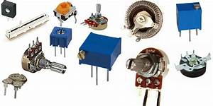 Types of Variable Resistors images