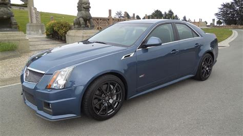Cadillac Cts Blue by 2013 Cadillac Cts V Stealth Blue Metallic Cargasm