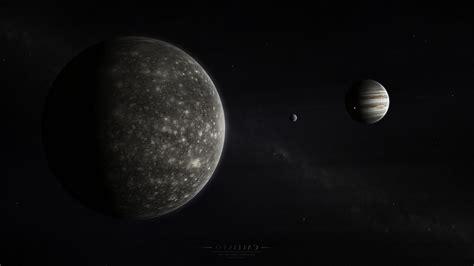 space, Planet, Moon, Stars, Jupiter, Callisto Wallpapers ...