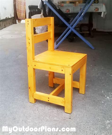 diy wood kids chair myoutdoorplans  woodworking