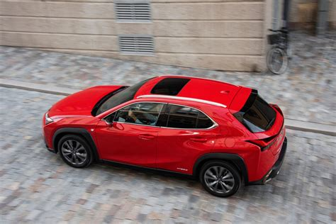 lexus ux  review  small package   big city
