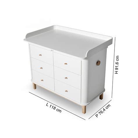 Fasciatoi Cassettiere by Cassettiera Wood Con Fasciatoio Grande By Oliver Furniture