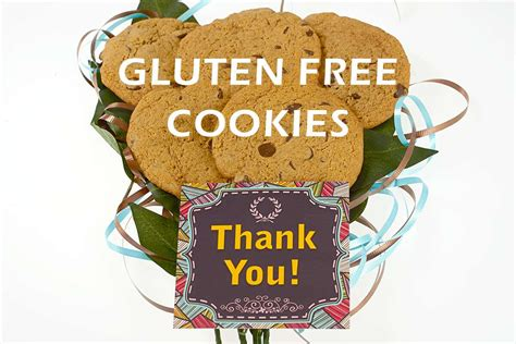 Bouquet Ingredients Gluten Free by Thank You Gluten Free Cookie Bouquet Stem Cookie
