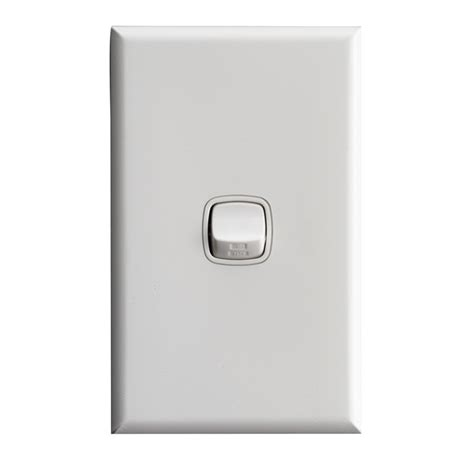 hpm excel 1 light switch white bunnings warehouse