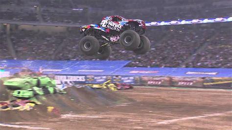 monster truck show atlanta ga monster jam nitro circus monster truck freestyle