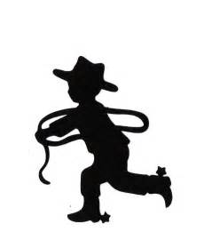 Little Boy Cowboy Silhouette