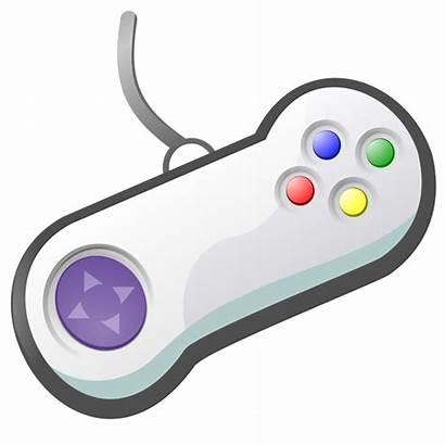 Gamepad Svg Controller Cartoon Clipart Icon Clip