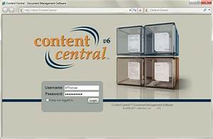 ademero content central taking document management to a With content central document management