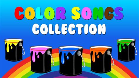 what rhymes with colors quot color songs collection vol 1 quot learn colors sing