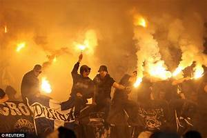 Fans clash in the stands during Serbian Cup final | Daily ...