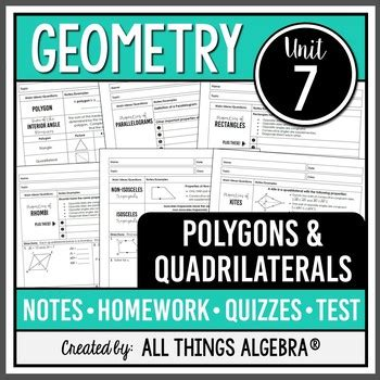 This figure is also a rectangle, which means all four interior angles are right, that is, equal to 90°, which means angle 11 and the 59° angle are. Polygons and Quadrilaterals (Geometry - Unit 7) by All ...