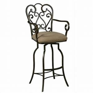 pastel furniture magnolia 30quot arm swivel bar stool in With magnolia home furniture bar stools