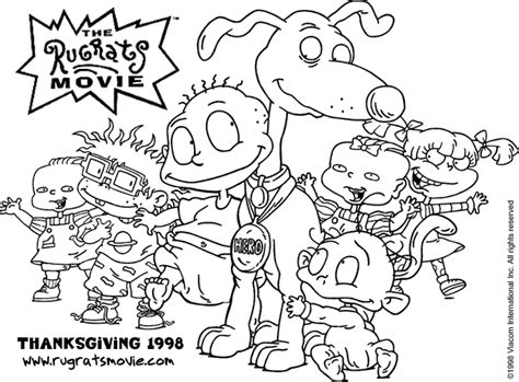 Rugrats Coloring Pages - Eskayalitim