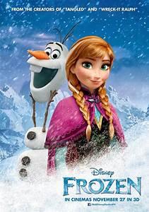 Anna & Olaf, Elsa, Hans, and Kristoff & Sven new posters ...