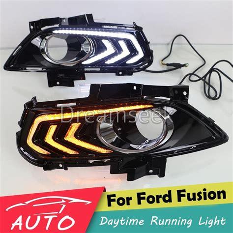 drl for ford fusion mondeo led daytime running light fog
