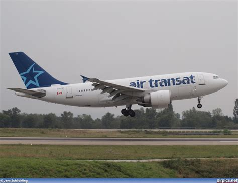 air transat login airpics net c gtsy airbus a310 300 air transat medium size