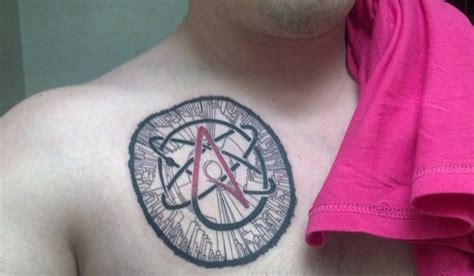 atheist tattoos designs ideas  meaning tattoos
