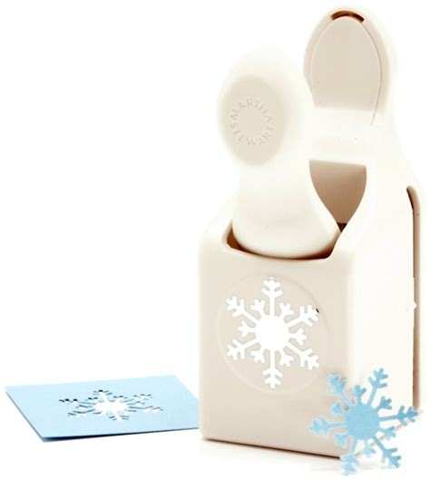 martha stewart snowflake craft punch