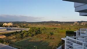 quotausblick vom balkon in richtung bergequot hotel cala millor With katzennetz balkon mit cala millor hotel garden