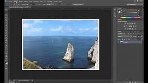 Créer Un Cadre Photo : tutorial cr er un cadre avec transparence signature sur photoshop youtube ~ Melissatoandfro.com Idées de Décoration