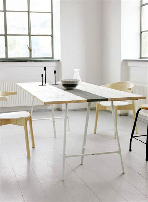 diy minimalist dining table simple diy ideas for a stylish table
