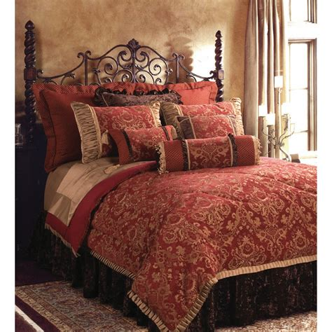 and gold bedroom bench bacara comforter set interior