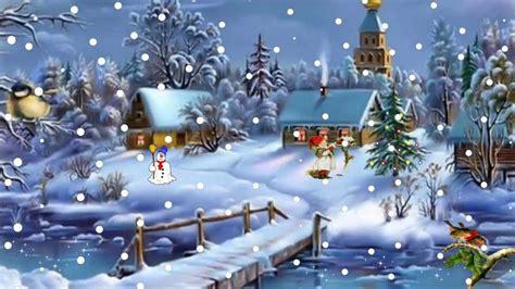 kerstanimatie   snow christmas animation youtube