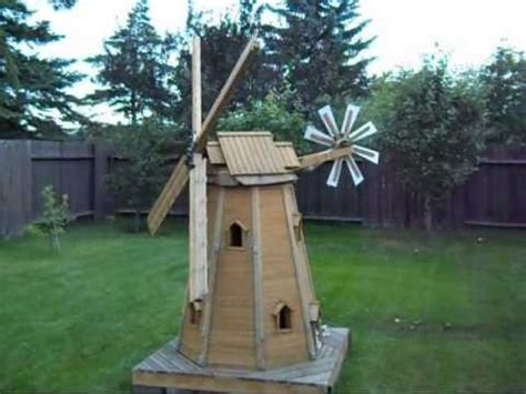 small garden windmill plans