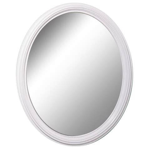 White Framed Oval Bathroom Mirror by 20 Collection Of White Rococo Mirror Mirror Ideas