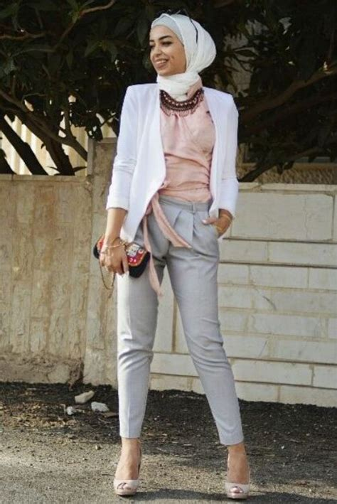 formal  classic hijab outfits  trendy girls