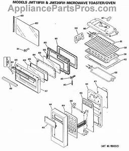 Parts For Ge Jmt19f01  Microwave Toaster    Oven Parts