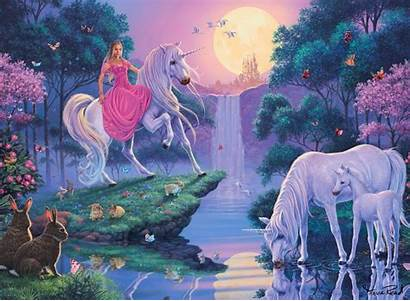Unicorns Fairies Unicorn Fairy Princess Tale Horse