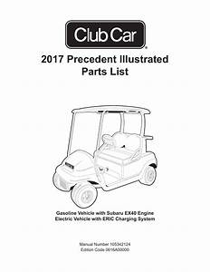 2017 Precedent Illustrated Parts List
