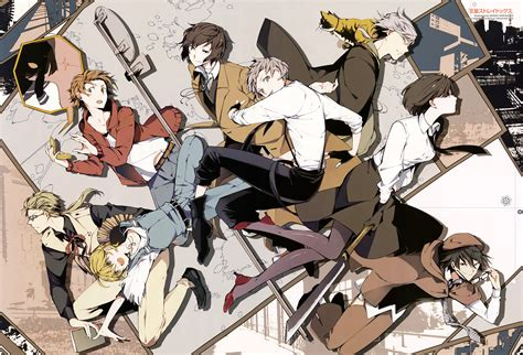 bungou stray dogs anime  vida real ptanime