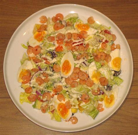 Solvitas virtuve: Cēzara salāti ar garnelēm