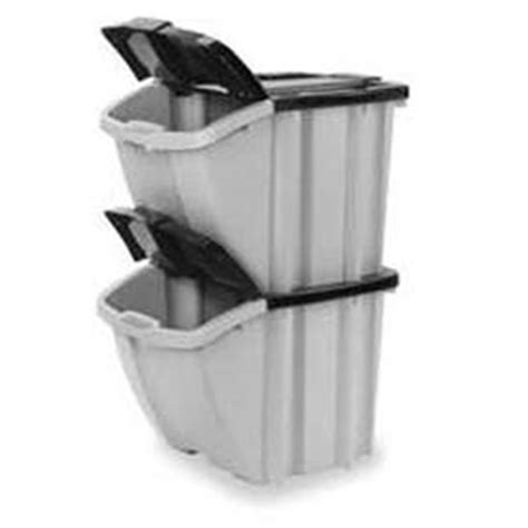 bins totes containers containers stacking suncast