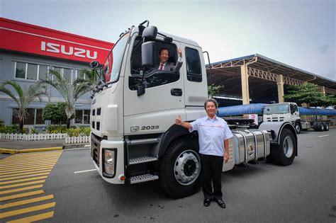 Isuzu To Carry Five New Heavy-duty Trucks