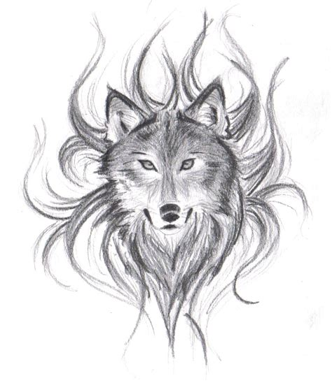 Best Wolf Face Drawing Ideas And Images On Bing Find What You Ll