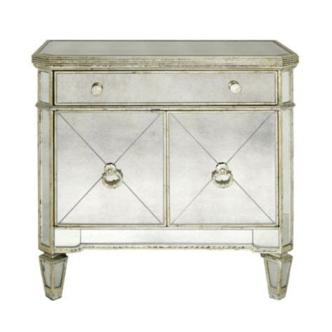 mirrored side chest from z gallerie home decor pinterest