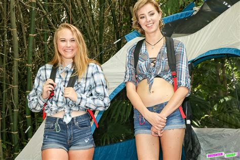 Daughterswap On Twitter Alyssa Cole And Haley Reed Enjoy A Nice Day Of Camping
