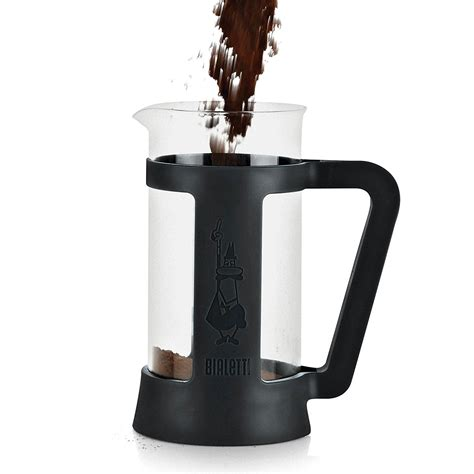 4.9 out of 5 stars based. Bialetti Modern 3-Cup French Press Coffee Maker, Black ...