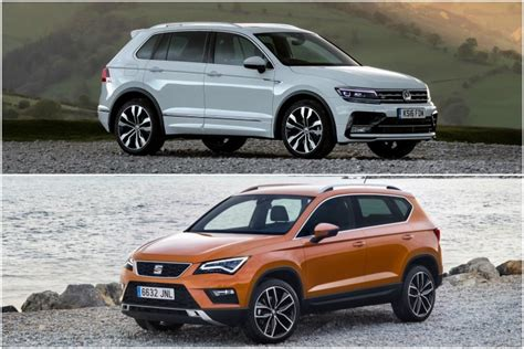 seat ateca vs tiguan head to head review volkswagen tiguan v seat ateca